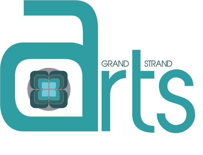 This Was A Logo Created For Alli Baccus Founder Of The Grand Strand Arts Group Located In Myrtle Beach South Carolina Center Flower Symbol That Is